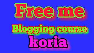 Blogging course