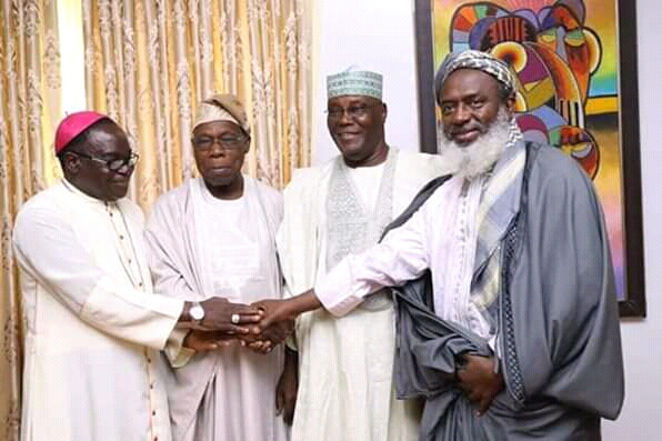 Remarks By Chief Olusegun Obasanjo On The Visit of PDP Presidential Candidate, Atiku Abubakar, to Abeokuta