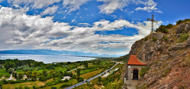 Cave church - St. Erasmos near Ohrid, Macedonia