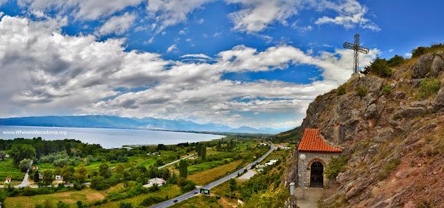 Cave church - St. Erasmos near Ohrid, Macedonia