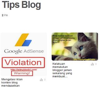 Cara memverifikasi blog situs ke pinterest5