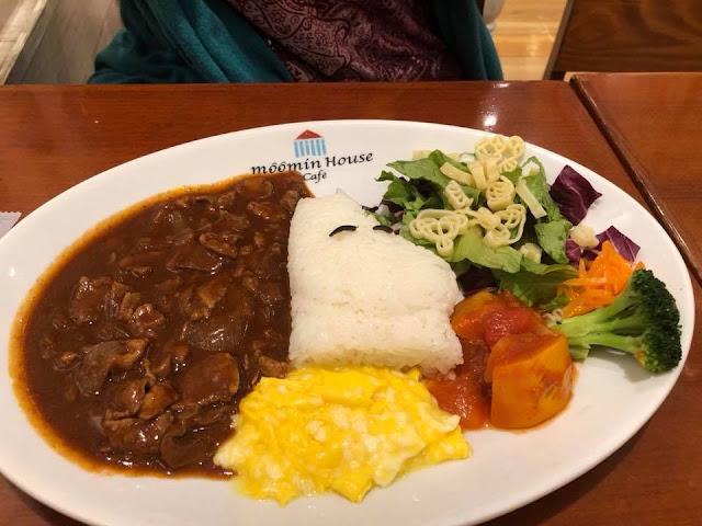 Moomin Café Tokyo Skytree