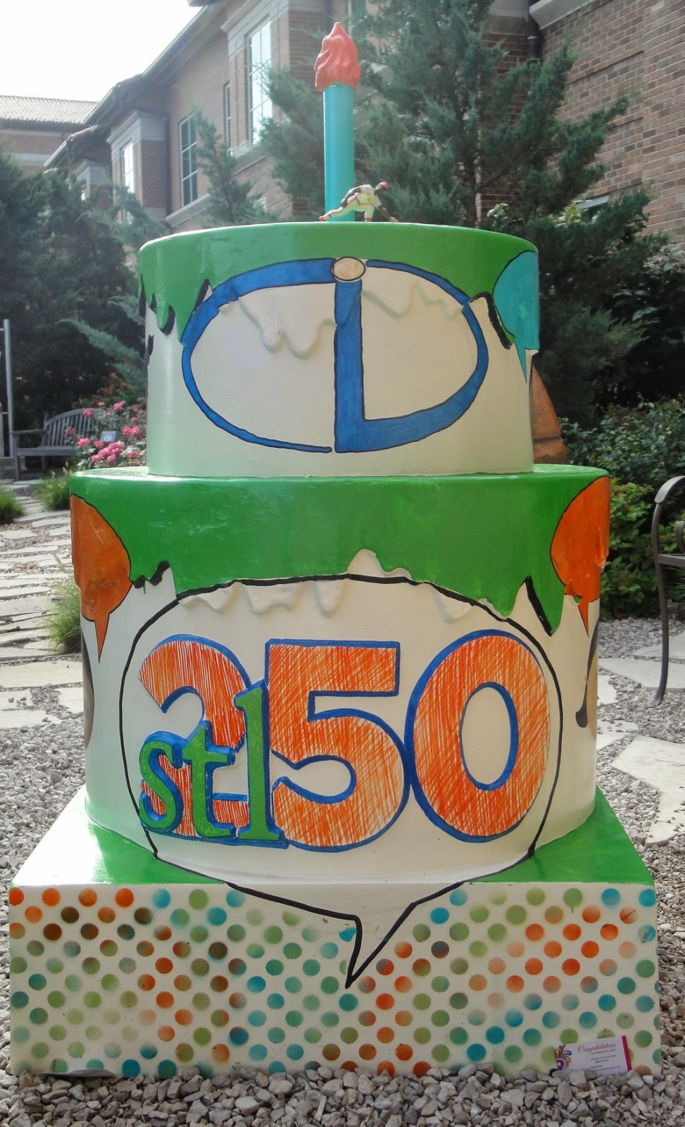 St louis 250 years 250 cakes here we go 176 for Cid special bureau 13 april 2014