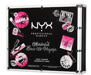 NYX Wanderlust Envie De Voyager Advent Calendar 2016