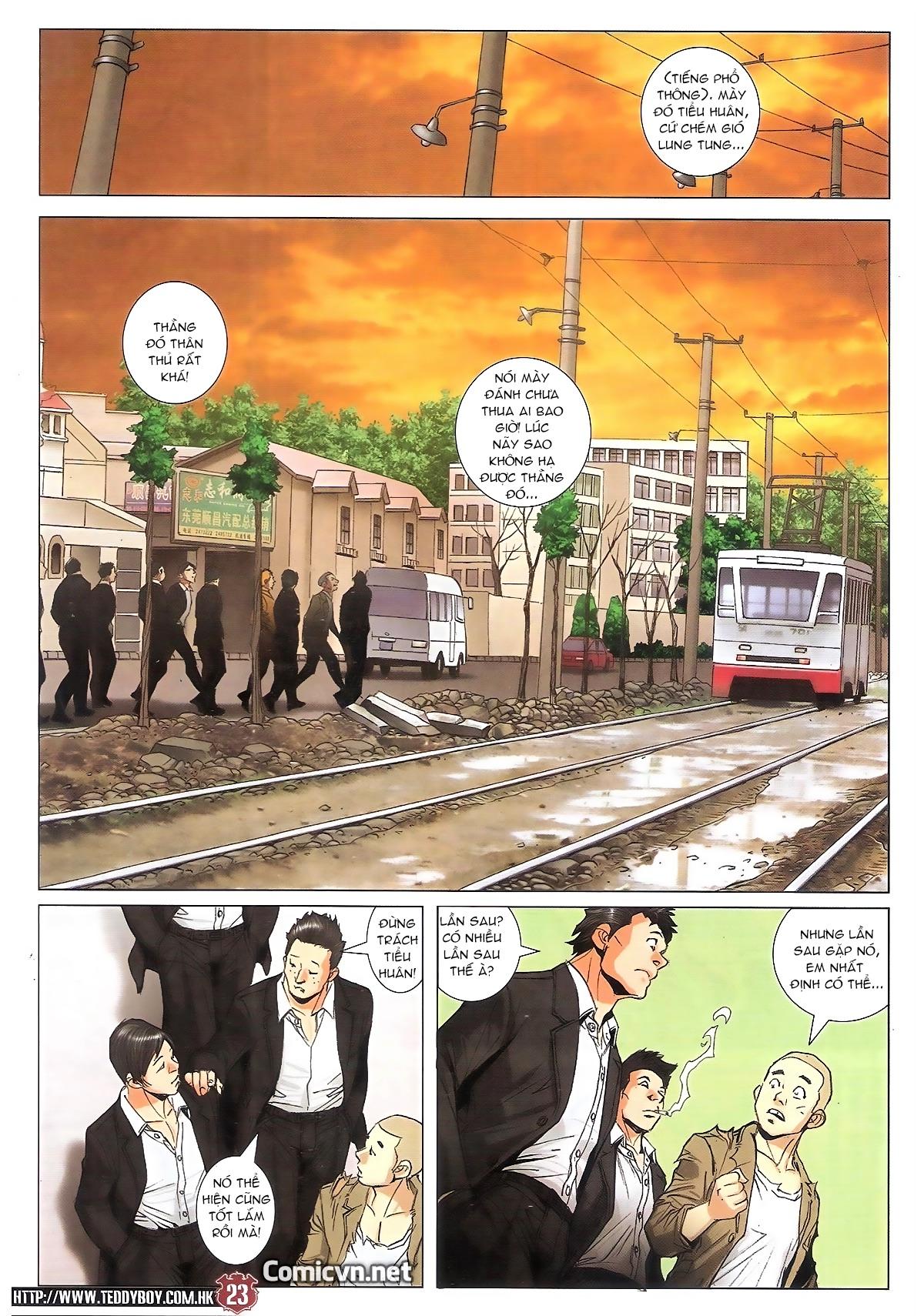 Người Trong Giang Hồ chapter 1795: hoàng tiên sinh trang 22