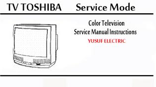 Service Mode TV TOSHIBA Berbagai Type