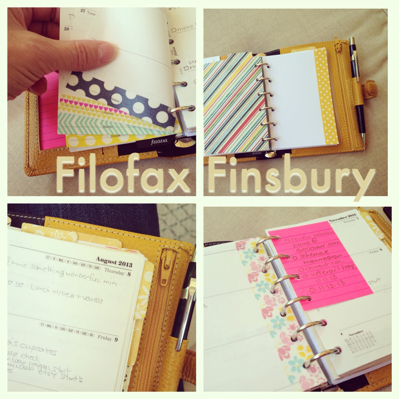 Filofax Pocket Finsbury | iloveitallwithmonikawright.com