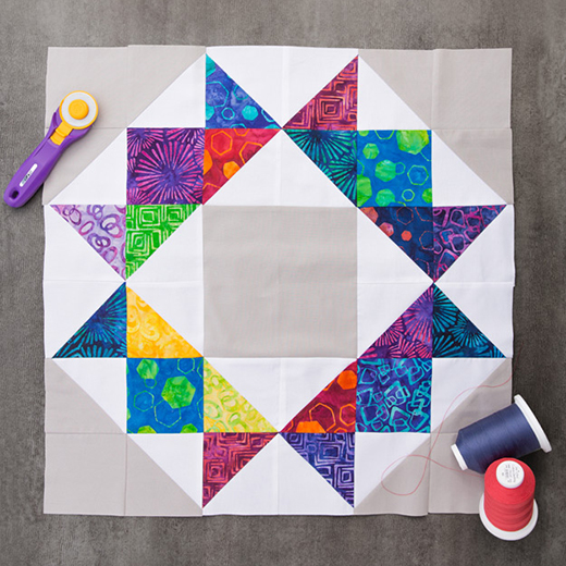 The Crown Quilt Free Tutorial