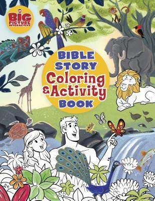 BOOK REVIEW: Bible Story Coloring & Activity Book by B&H Publishing Group