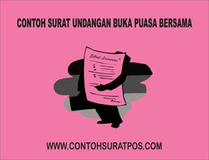 Contoh Surat Undangan Buka Puasa Bersama Contoh Surat Pos