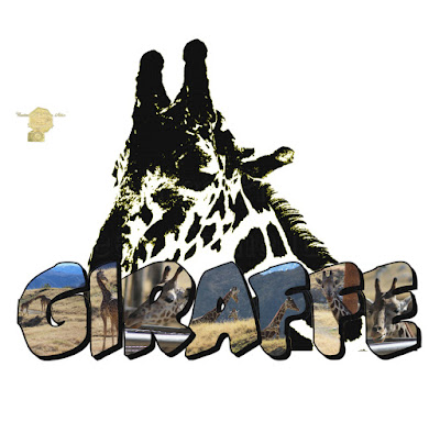 Giraffe Big Letter
