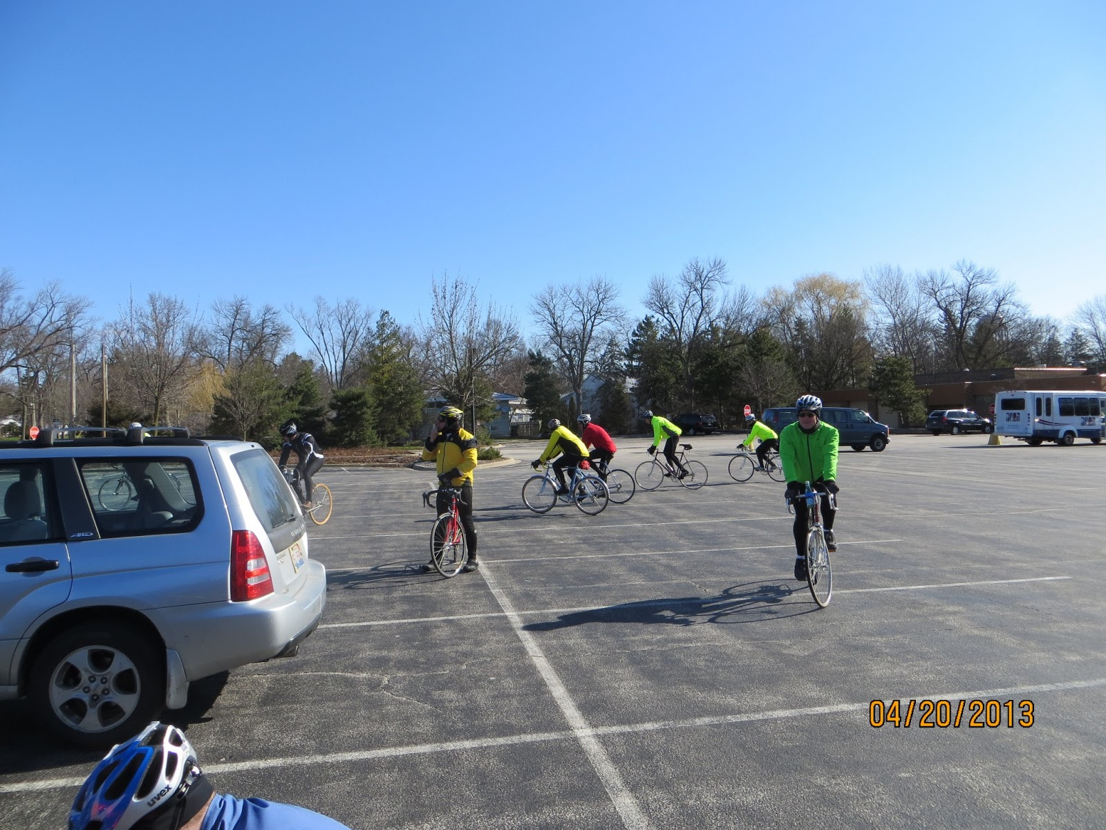 Older adult cycling