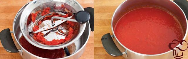 Receta salsa de tomate parte 4
