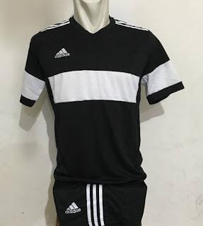 gambar desain terbaru jersey futsal foto photo kamera Setelan jersey Futsal Adidas Konn Hitam di enkosa sport