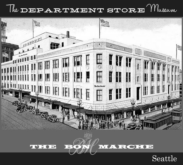 In 1928, The Bon Marche Left Its Old Location On 2nd Street And Moved To  This New Four Story Building, Designed In A Rich Art Deco Style, Designed  By Noted ...