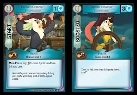 My Little Pony Captain Celaeno, Swashbuckler Seaquestria and Beyond CCG Card