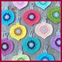 Adorno navideño a crochet