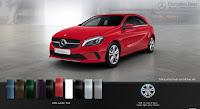 Mercedes A200 2017 màu Đỏ Jupiter 589