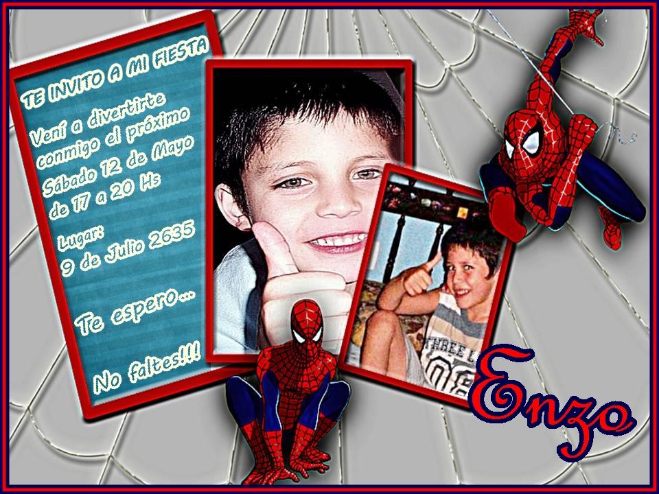 M F Arteydiseño Arte En Fotos Tarjeta Invitación Infantil