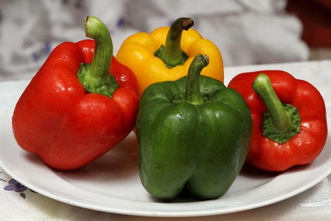 Paprika hijau