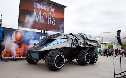 MOBIL SANG PENJELAJAH MARS