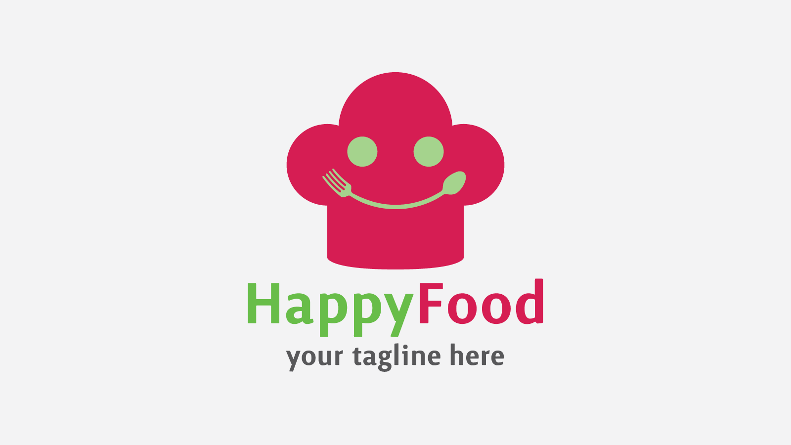Happyfood Free Business Logo Design Template