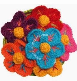 http://unachechi.blogspot.com.es/2014/02/flores-en-dos-agujas.html