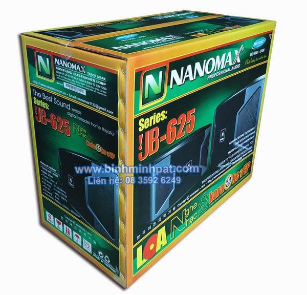 thùng carton in offset- Thùng loa NANOMAX