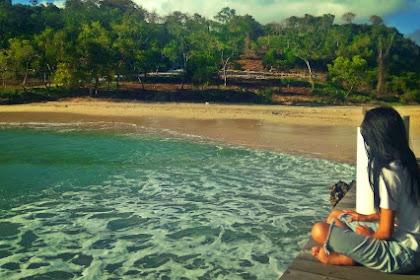 Pantai Pondok Pemuda Bareng Cewek Igo Cantik Cahyani Prawtiwi
