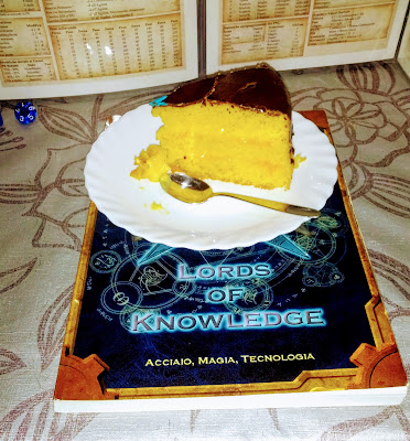 Torta di compleanno di LoK
