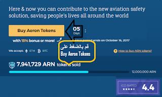 مشروع مستقبلى وعملة سوف تحطم الدنيا Aeron;cripto;
