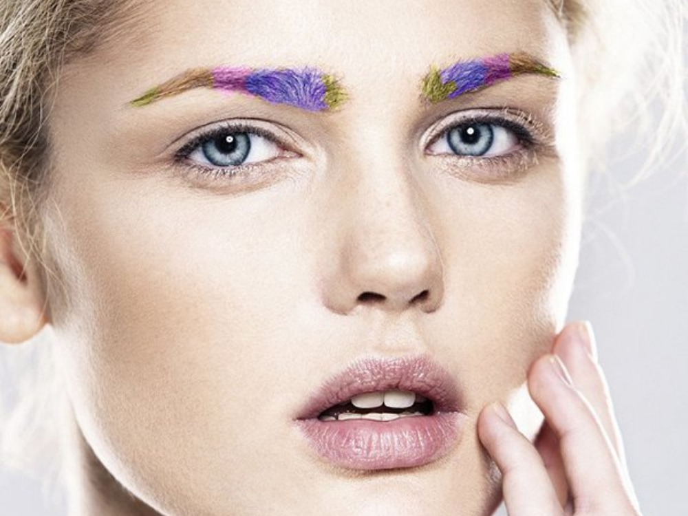 Rainbow Brows with WINKY LUX
