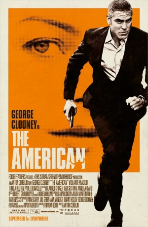 The American starring George Clooney, screenplay adapted by Rowan Joffe