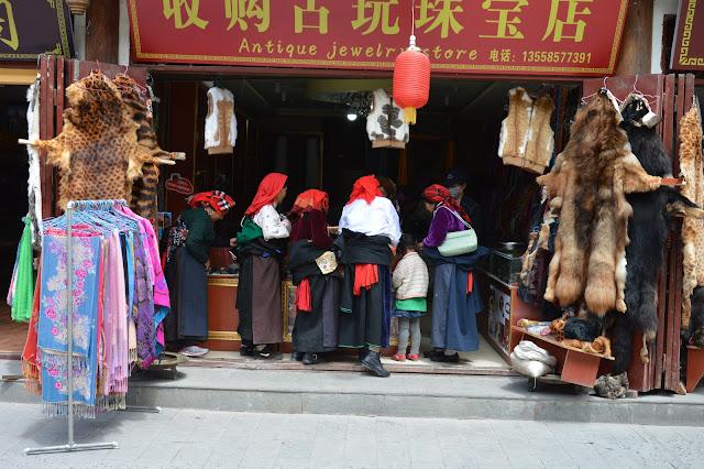 Magasin à Songpan