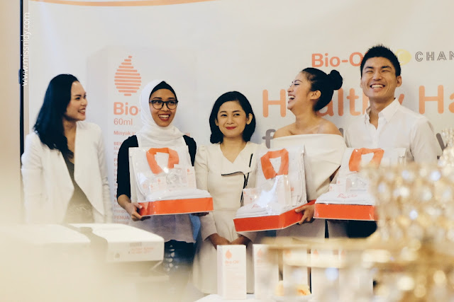 beauty sharing session by c channel x bio oil