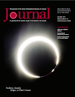 cover of the RASC Journal 2017 June