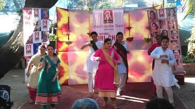 Specially abled perform Indian Traditional Dance
