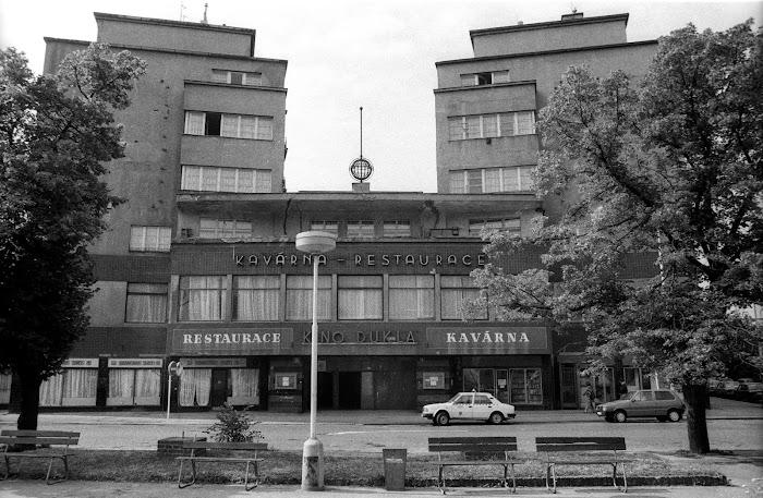 Prague, ^rue Elsnicovo, Dukla, © L. Gigout, 1990