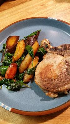Chicken and (or Pork) and Vegetables Skillet Meal