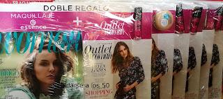 Regalos revista Woman noviembre de productos de essence