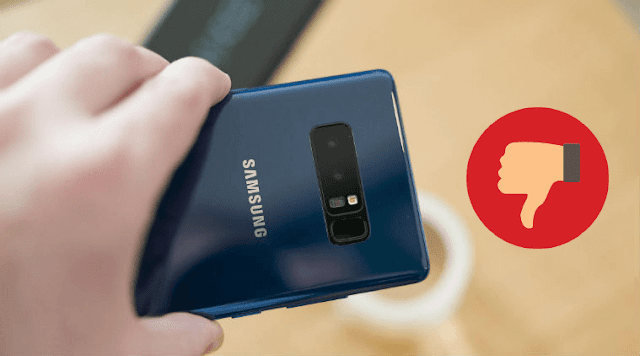 بعد فشل النوت 7 سامسونج تفاجئ مستخدميها بفشل هاتفها الجديد النوت 8