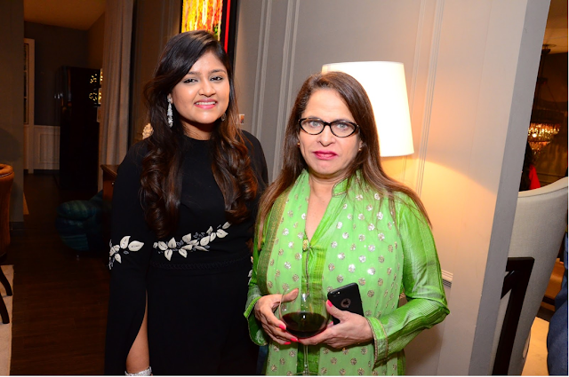 Left-Right- Anushree Gupta & Ramola Bachan (Celebrity)