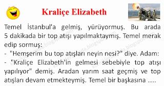 Kraliçe Elizabeth - Temel Fıkraları - Komikler Burada