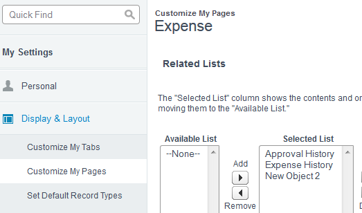 SimplySfdc com: Salesforce: Related List not Visible to a User