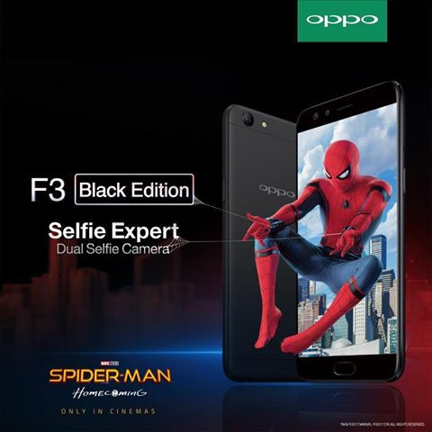 "Join OPPO's Giveaway Contest To Win 2 ""Spider-man Homecoming"" Movie Tickets"