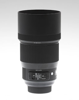 Sigma 135mm f/1.8 DG HSM Art с блендой
