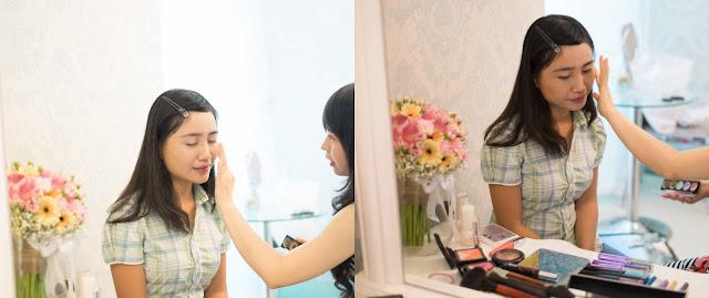 trang điểm Yến Lê,tao khoi co dau,makeup he 2015,trang diem tan nha
