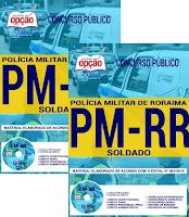 Apostila da PMRR para Soldado 2018