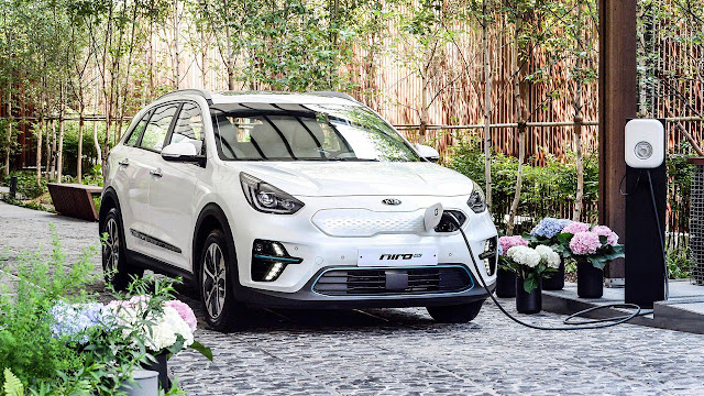 All-electric Kia Niro EV Crossover
