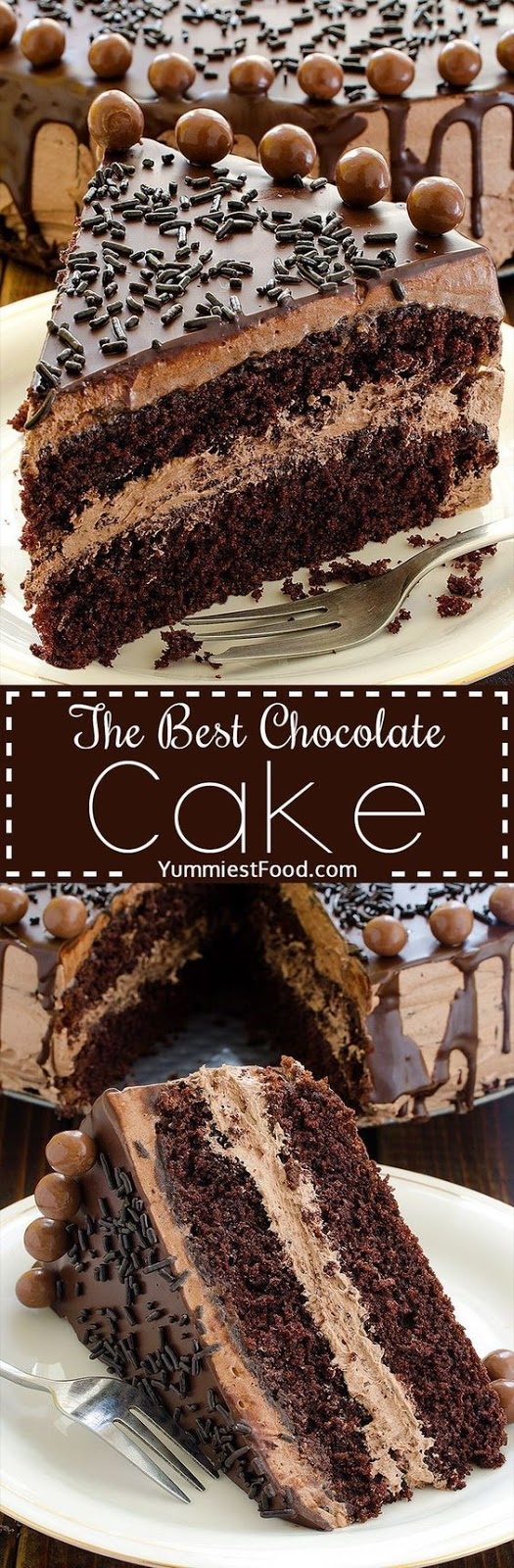Http Yummiestfood Com The Best Chocolate Cake